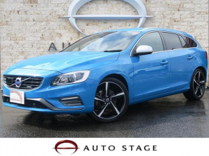 iボルボ ボルボ V60 T6 AWD Rデザイン ポールスターPKG 黒革 特別色