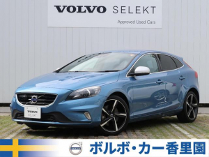 iボルボ ボルボ V40 T5 Rデザイン 認定 16y 黒革 パークアシストパイロッ