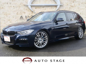 iBMW BMW 320dブルーP Mスポーツ 黒革 純正OP19AW 特別色