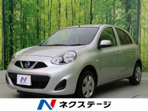 日産 マーチ X FOUR Vセレクション 4WD スマートキー 禁煙車