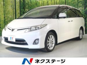 トヨタ エスティマ 2.4アエラス Gエディション 両側電動ドア 純正HDDナビ