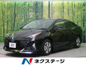 トヨタ プリウス A 4WD 純正ナビTV セーフティセンス モデリスタエアロ