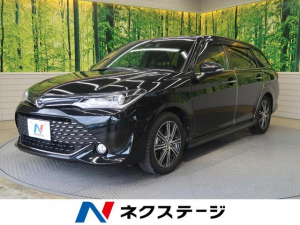 トヨタ カローラフィールダー 1.5G ダブルバイビー 純正SDナビ セーフティセンス