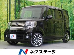 ホンダ N-BOXカスタム G特別仕様車ターボSSパッケージ 両側パワスラ 純正ナビ