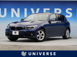 BMW 1シリーズ 118i スポーツ 衝突軽減 純正HDDナビ バックカメラ