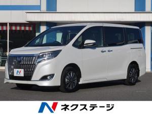 トヨタ エスクァイア Gi プレミアムパッケージ 登録済未使用車 SDナビ