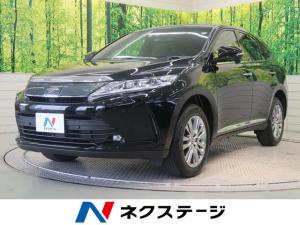 トヨタ ハリアー プレミアム サンルーフ 登録済み未使用車 社外SDナビ