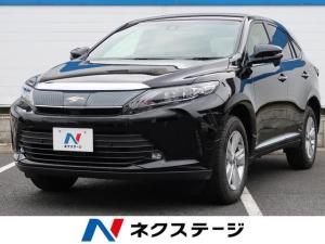 トヨタ ハリアー エレガンス 登録済未使用車 セーフティセンス