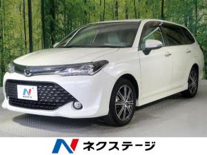 トヨタ カローラフィールダー 1.5G ダブルバイビー セーフティセンス 純正ナビ