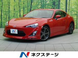 トヨタ 86 GT モデリスタエアロ 純正SDナビ