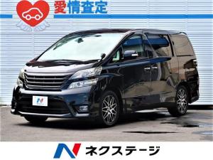 トヨタ ヴェルファイア 2.4Z プラチナムセレクション 社外SDナビ・後席モニタ