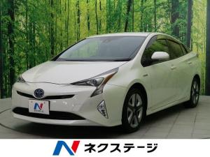 トヨタ プリウス Aツーリングセレクション 純正SDナビ フルセグTV