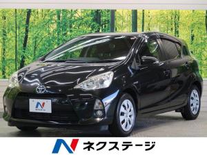 トヨタ アクア G スマートエントリーPKG ビューティPKG 社外ナビTV