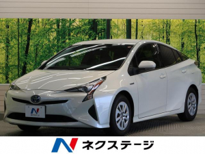 トヨタ プリウス S セーフティセンス LEDヘッド 純正ナビ地デジTV