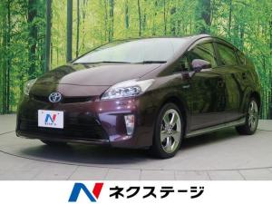 トヨタ プリウス Sツーリングセレクション・マイコーデ 純正SDナビ フルセグ