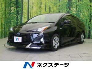 トヨタ プリウス S セーフティセンス 4WD 寒冷地 エアロキット SDナビ