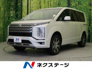 三菱 デリカD:5 G 登録済未使用車 4WD 衝突軽減装置 両側電動ドア