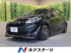 トヨタ アクア S セーフティセンス TRDエアロ 純正SDナビ