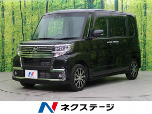 ダイハツ タント カスタムX トップエディションSAIII 純正ナビ ETC