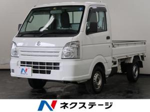 スズキ キャリイトラック KCエアコン・パワステ農繁仕様 4WD 5MT エアコン