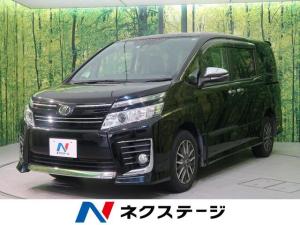 トヨタ ヴォクシー ZS 煌 4WD 社外8型ナビ 両側電動ドア 衝突軽減装置