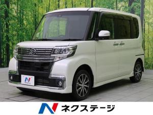 ダイハツ タント カスタムX トップエディションSAII 純正8型ナビ 禁煙車
