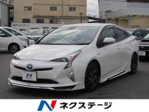 トヨタ プリウス Sツーリングセレクション モデリスタエアロ 純正SDナビ