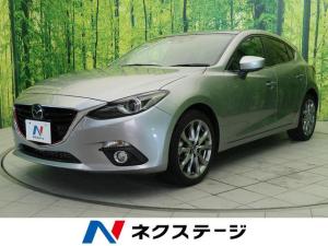 マツダ アクセラスポーツ XD ディーゼルターボ・ブラックハーフレザーシート・純正ナビ