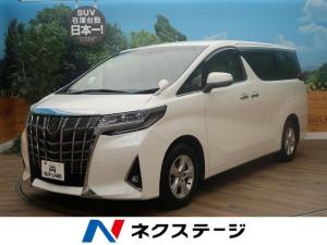 トヨタ アルファード 2.5X 純正SDナビ 両側電動パワスラ 寒冷地仕様 4WD