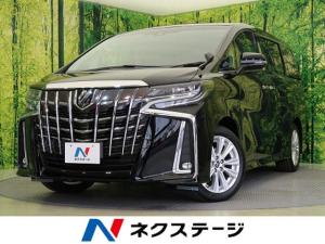 トヨタ アルファード 2.5S Aパッケージ 登録済未使用車 社外9型ナビ