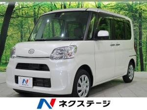 ダイハツ タント X SAII 純正SDナビTV 電動スライド 4WD