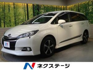 トヨタ ウィッシュ 1.8Sモノトーン 禁煙車 HIDヘッド 3列シート