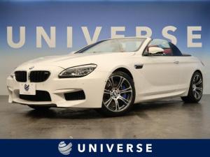 BMW M6 カブリオレ 赤革 ハーマンカードン ヘッドアップディスプレイ