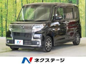 ダイハツ タント カスタムX トップエディションSAIII 純正ナビ