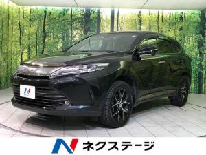 トヨタ ハリアー プレミアム スタイルノアール 4WD BIGX10型ナビTV