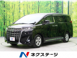 トヨタ アルファード 2.5X 純正10型ナビ フリップダウンモニター