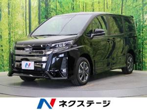 トヨタ ノア Si 4WD 新品SDナビ ムーンルーフ 登録済未使用 7人