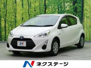トヨタ アクア L 社外SDナビ バックカメラ キーレス 禁煙車 ETC