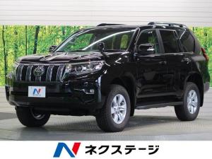 トヨタ ランドクルーザープラド TX ムーンルーフ ルーフレール 黒内装 7人乗