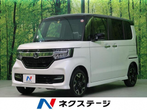ホンダ N-BOXカスタム G・Lターボホンダセンシング 4WD 届出済未使用車 ETC