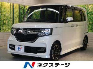 ホンダ N-BOXカスタム G・EXターボホンダセンシング 衝突軽減装置 SDナビ
