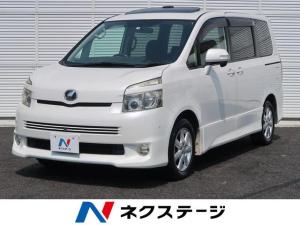 トヨタ ヴォクシー ZS 8人/サンルーフ/両側電動/スマートキー/純正HDD