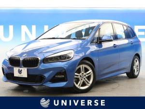 BMW 2シリーズ 218d xDriveグランツアラー Mスポーツ 純正ナビTV インテリジェントセーフティ クリアランスソナー バックカメラ LED 3列シート 禁煙車