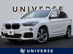 BMW X1 xDrive 18d Mスポーツ コンフォートPKG 純正ナビ バックカメラ LEDヘッドランプ パワーバックドア ミラーETC 純正18インチAW