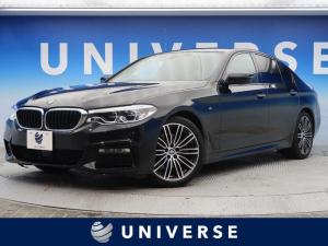 BMW 5シリーズ 523d Mスポーツ イノベーションPKG ハイラインPKG ワンオーナー 黒革シート アダプティブクルーズ 電動リアゲート 純正19AW アラウンドビューモニター
