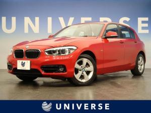 BMW 1シリーズ 118d スポーツ 純正HDDナビ LEDヘッド フォグ キーレス レッドライン入りスポーツシート