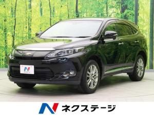 トヨタ ハリアー プレミアム 社外9インチナビ フリップダウンモニター セーフティセンス