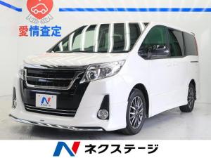 トヨタ ノア Si 社外ナビ フリップダウン 両側電動 7人乗り モデリスタエアロ LED デジタルインナーミラー