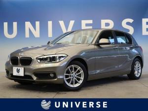 BMW 1シリーズ 118i パーキングサポートPKG リアビューカメラ パークディスタンス プラスPKG LEDヘッド フォグ ルームミラー内蔵ETC 純正16インチアルミホイール 純正HDDナビ Bluetooth接続