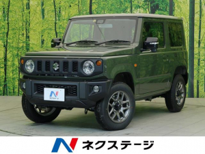 スズキ ジムニー XC 届け出済未使用車 デュアルカメラサポート 4WD 前席シートヒーター クルーズコントロール 純正16インチアルミホイール LEDヘッドライト